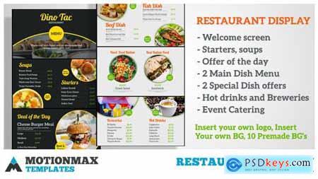 Restaurant Display 20386098