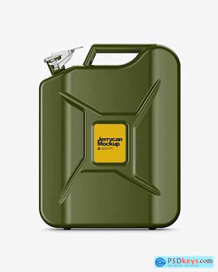 Fuel Jerrycan - Front View 79155