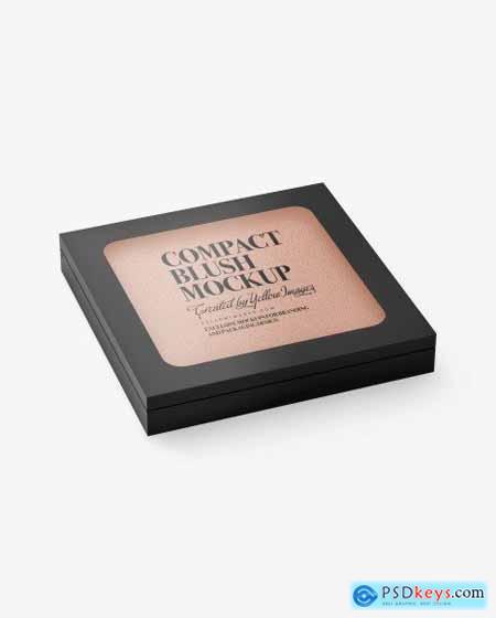 Cosmetic Blush Mockup 79031