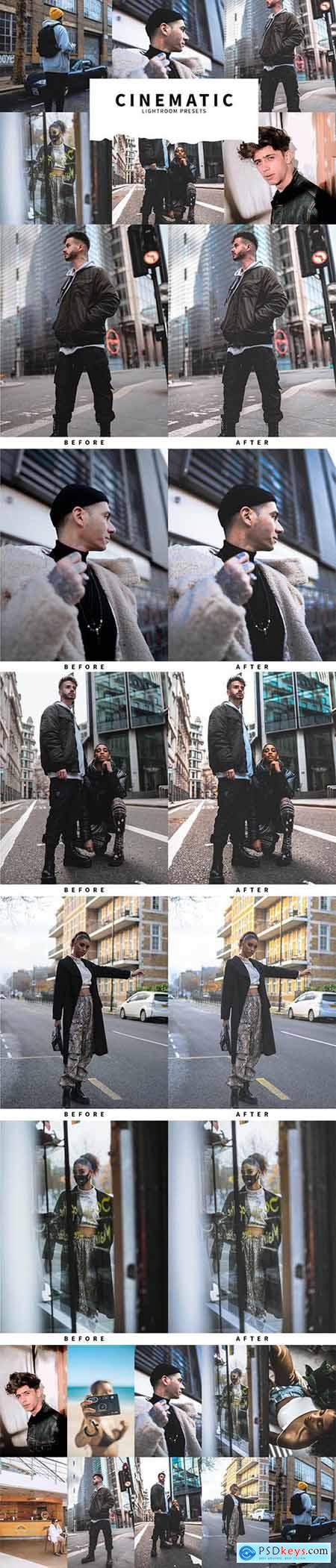 10 Cinematic Lightroom Presets 5978551
