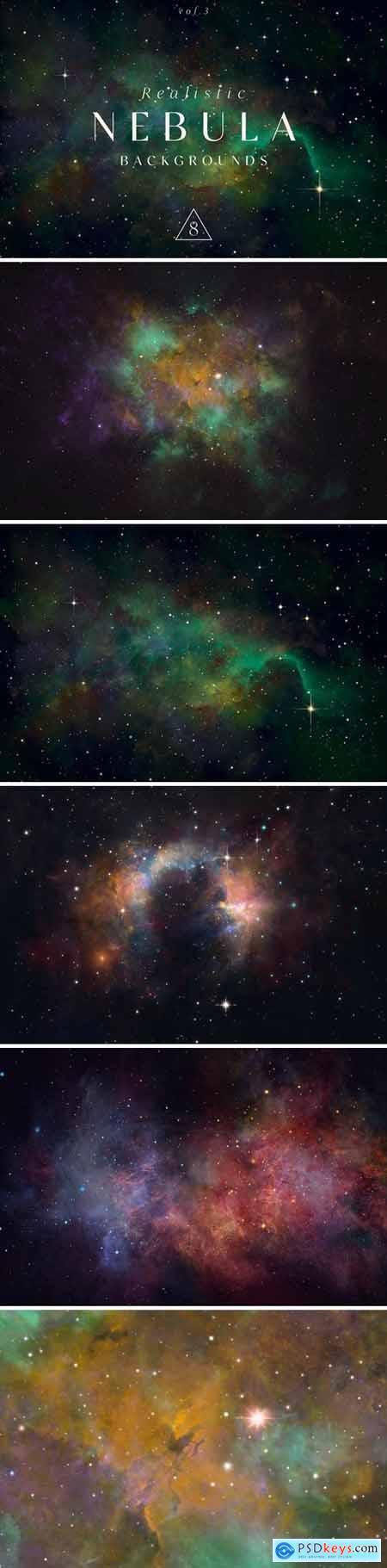 Realistic Nebula Backgrounds 3