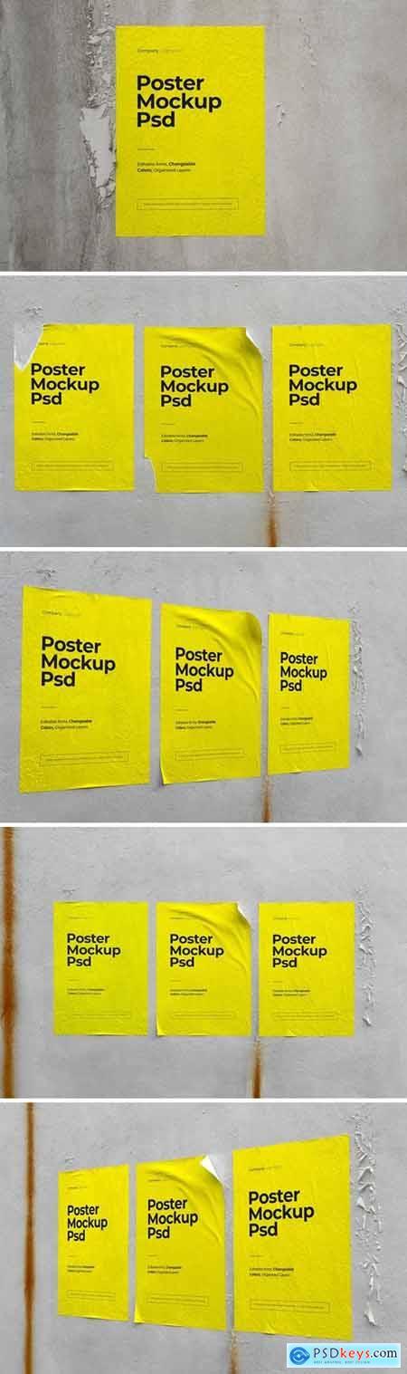 Urban Wall Poster Mockup