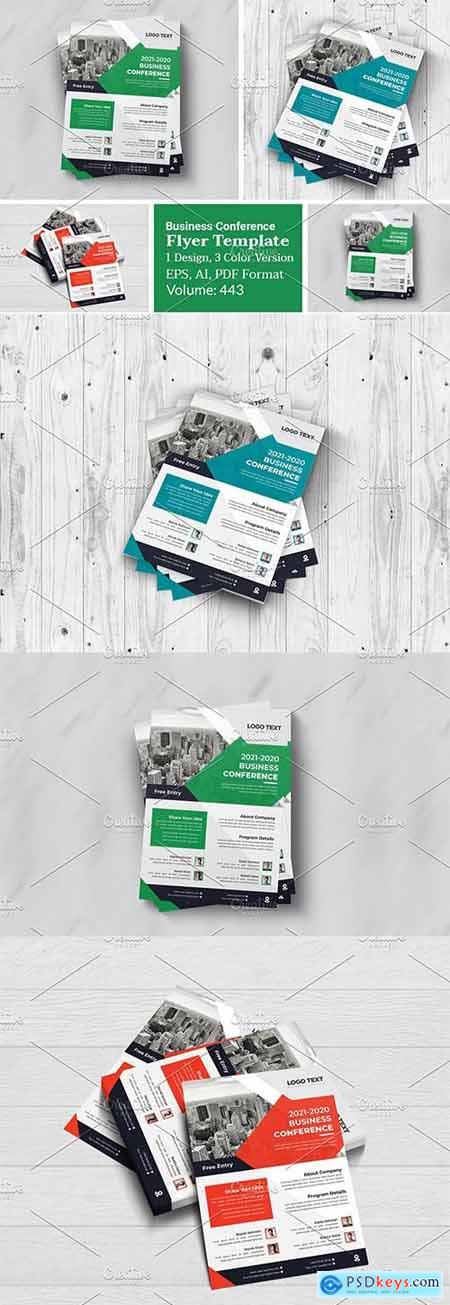 Business Conference Flyer Design 5990444