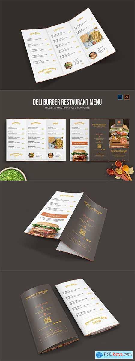 Deli Burger - Restaurant Menu