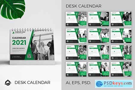 Desk Calendar 2021 NPY3WDF