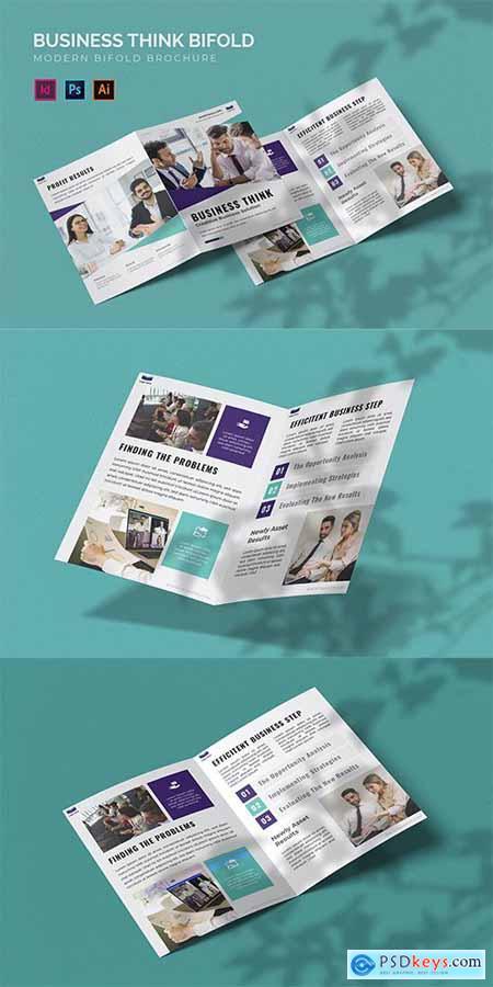 Business Think - Bifold Brochure