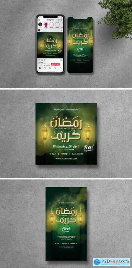 Ramadhan Kareem Instagram Set