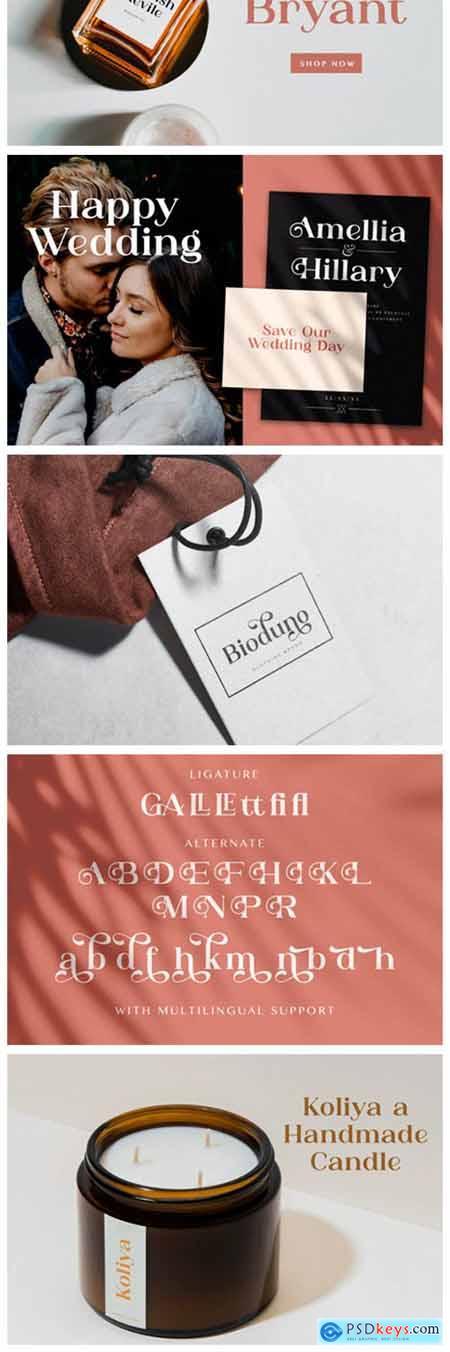 Adibafih Font