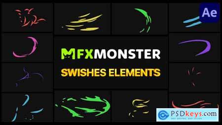 Swishes Elements - After Effects 31496340