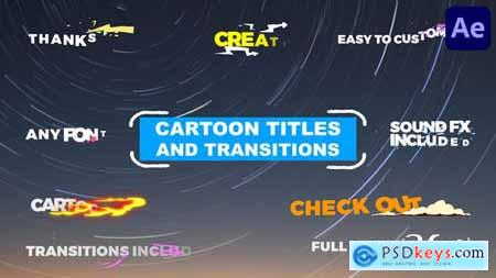 Cartoon Titles And Transitions - After Effects 31495455