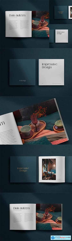 Autem – Square Magazine Mockup Scene Creator