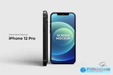 iPhone 12 Pro - Mockup Template