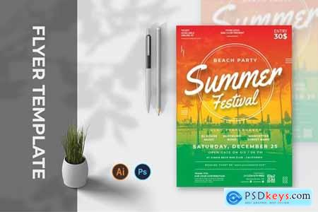 Summer Day Festival - Flyer AC