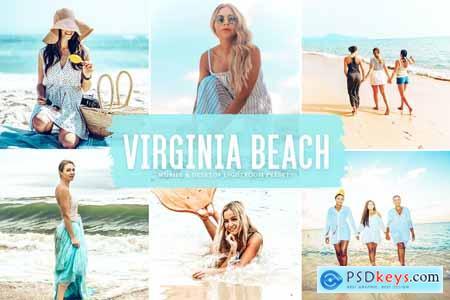 Virginia Beach Mobile & Desktop Lightroom Presets