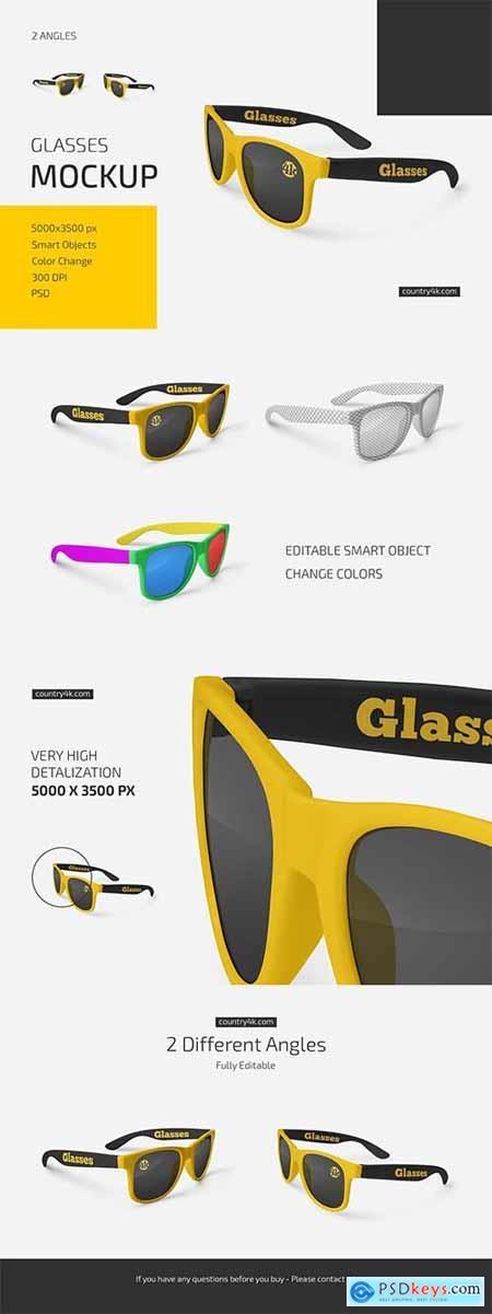 Glasses Mockup Set 6019002