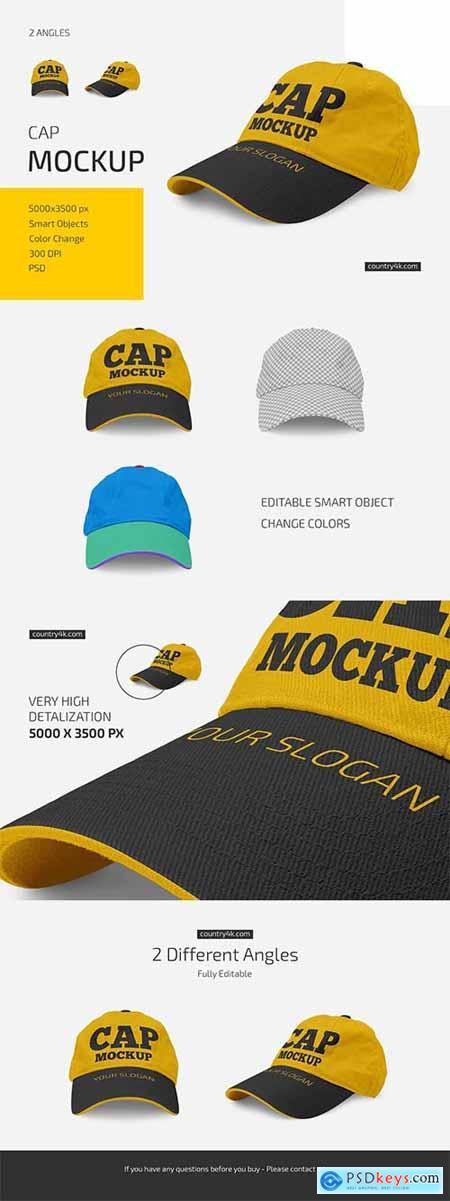 Cap Mockup Set 6024957