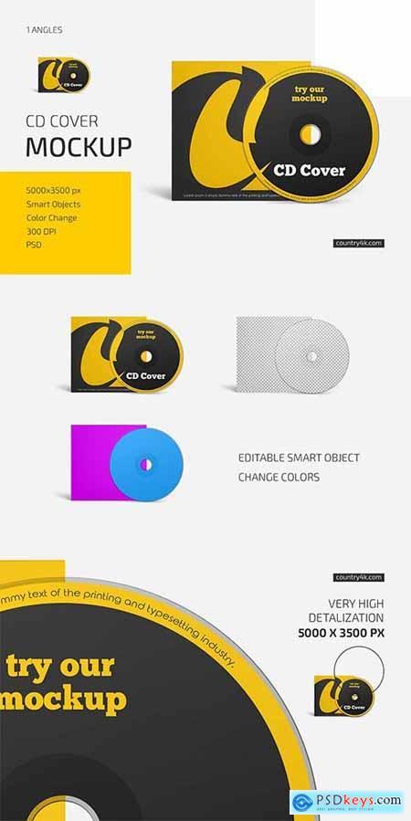 CD Cover Mockup 6033696