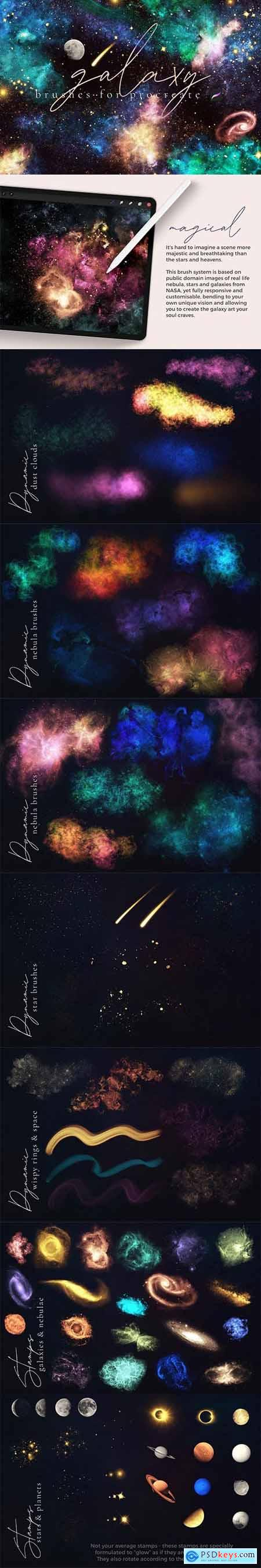 Galaxy Brushes for Procreate 5992272