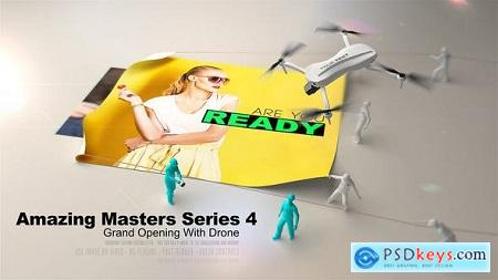 Amazing Masters Series 4 - Grand Opening With Drone 27208175