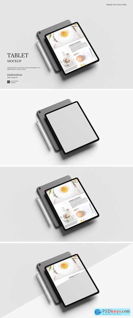 Stylish iPad - Tablet - Mockup