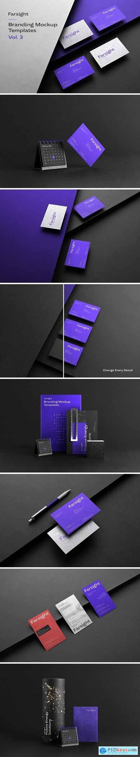 Farsight Branding Mockups Vol.3