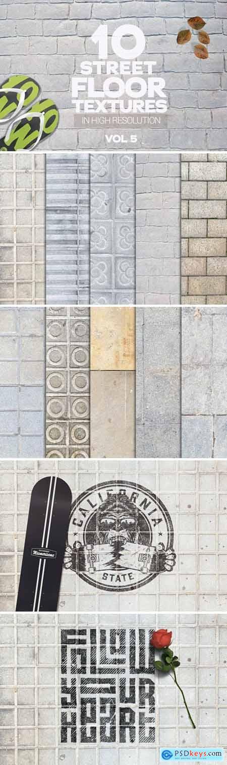 Street Floor Textures x10 Vol.5