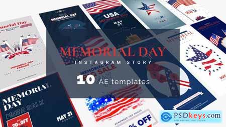 Memorial Day & 4th Of July Instagram Stories 31660666