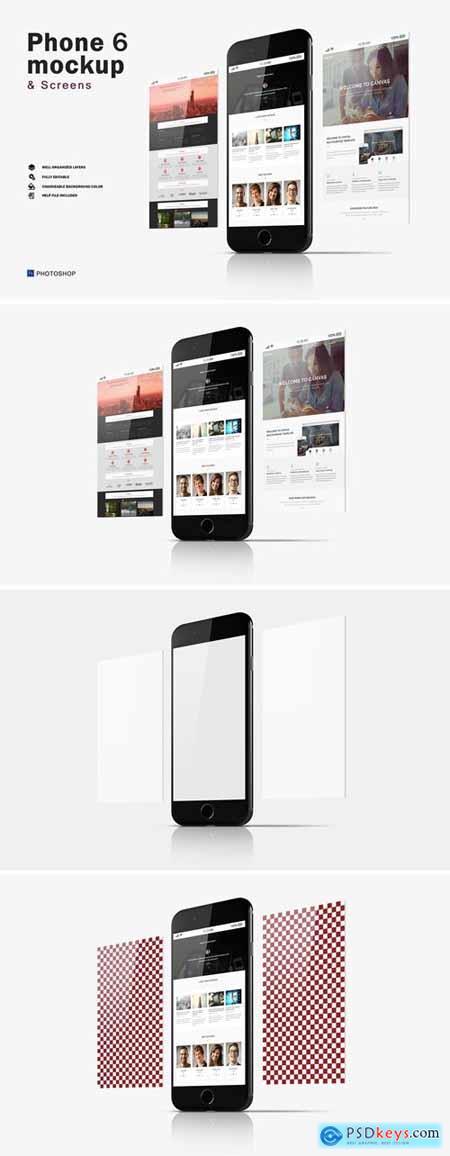 Phone 6 Mockup