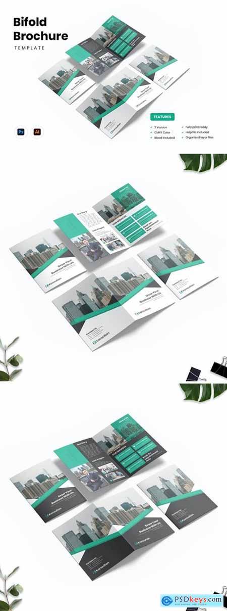 Brochure Bifold - Konsultan 2