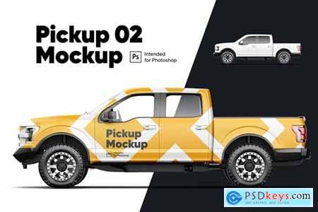 Pickup Mockup