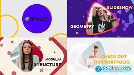 Geometric Slideshow Premiere Pro MOGRT 31445884