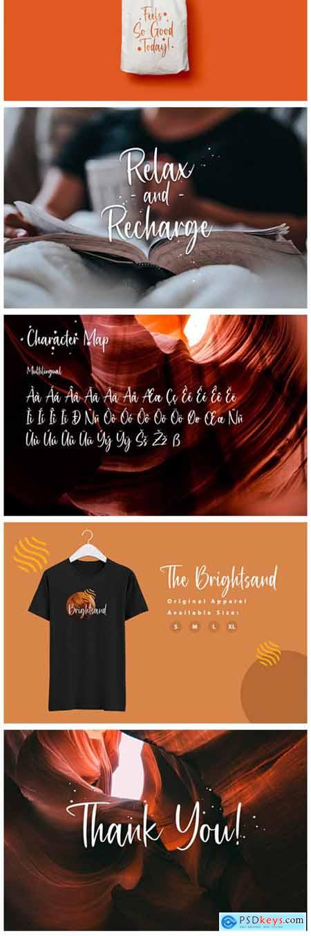 Brightsand Font