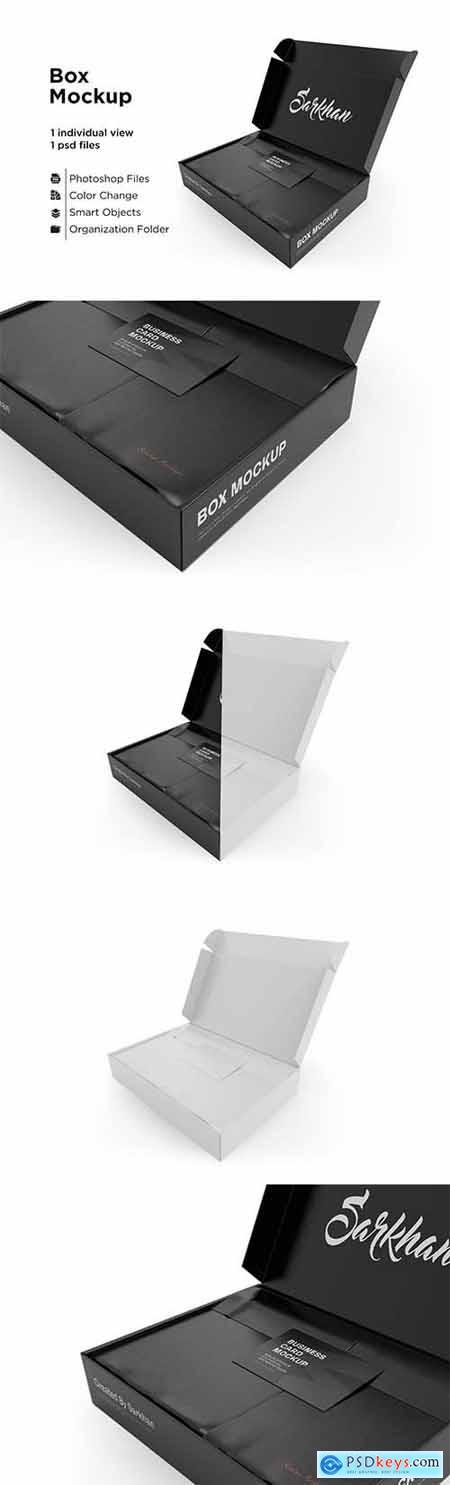 Business Card Box Mockup 6063380