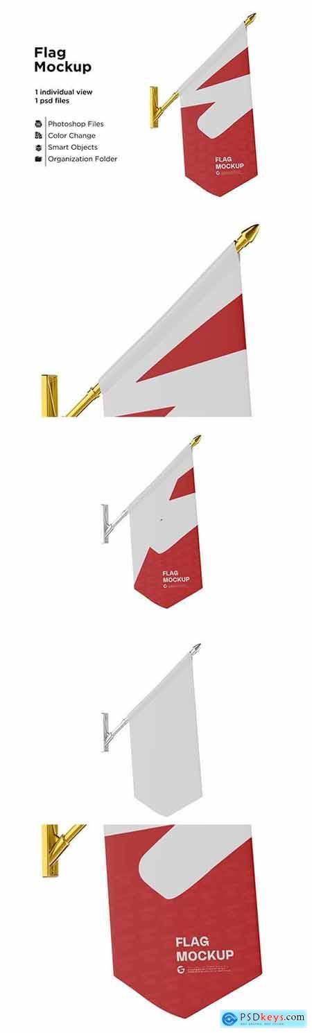 Flag Mockup 6063308