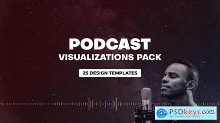 Podcast Audio Visualization Pack 31013297