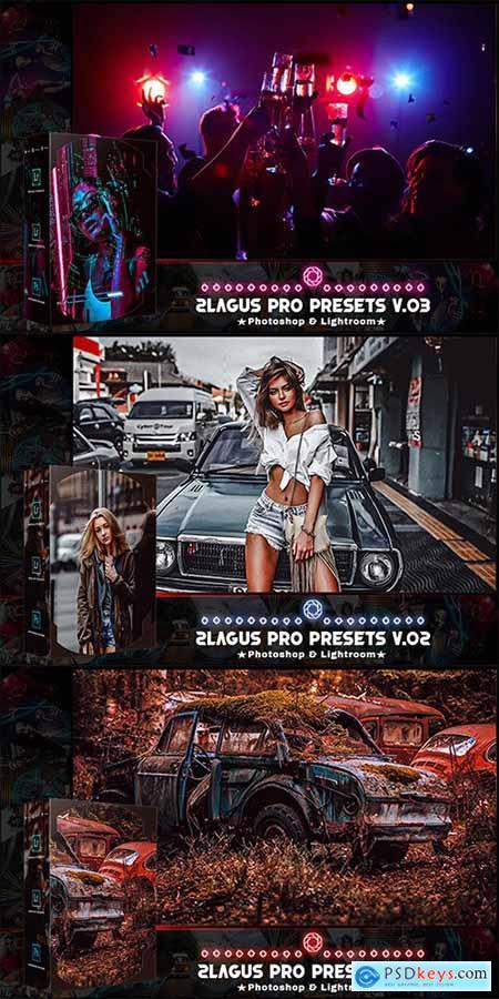 PRO Presets - V 01-03 - Photoshop & Lightroom