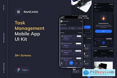 Rancang - Task Management UI Kit