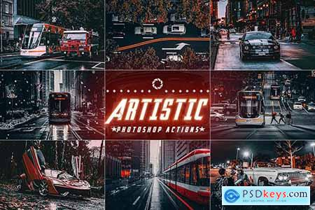 Artistic Collection Photosqhop Actions