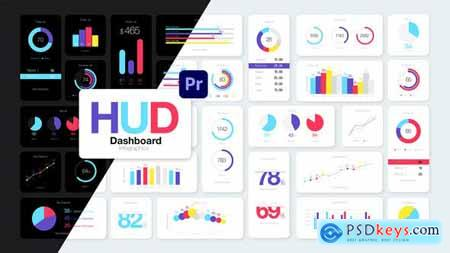 HUD Dashboard Infographics Essential Graphics for Premiere Pro 31652530