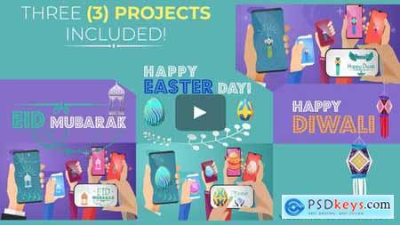 Happy Easter Day - Diwali - Eid Mubarak - Social Share 23589378