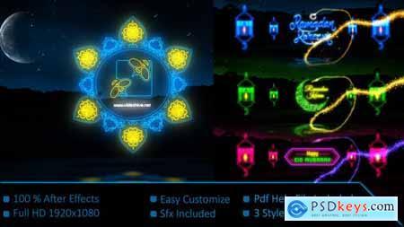 Neon Light Ramadan Kareem 21901807
