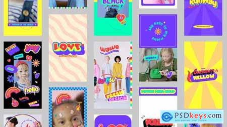 Stories Pack with Stickers 31735777