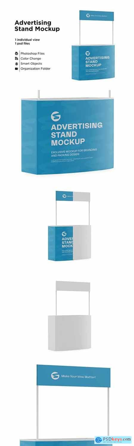 Advertising Stand Mockup 6063293
