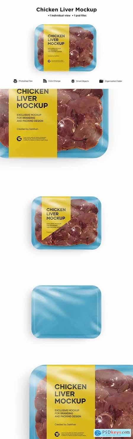 Chicken Liver Mockup 6084690