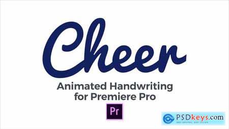 Cheer - Animated Handwriting Typeface 22747651