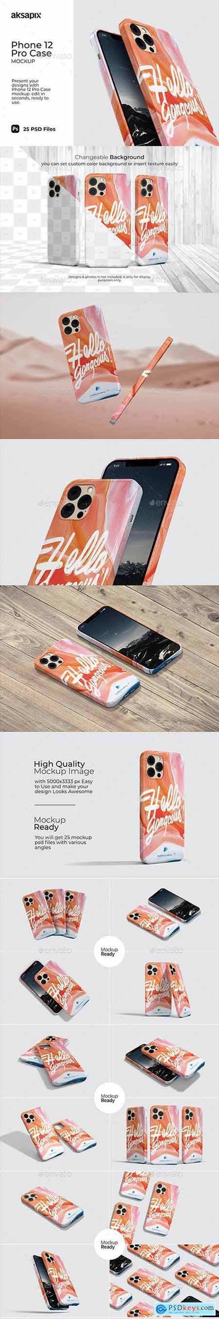 Phone 12 Pro Case Mockup 31805080