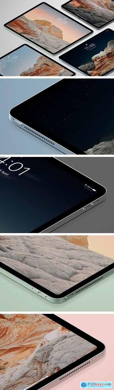 iPad isometric Mockup741