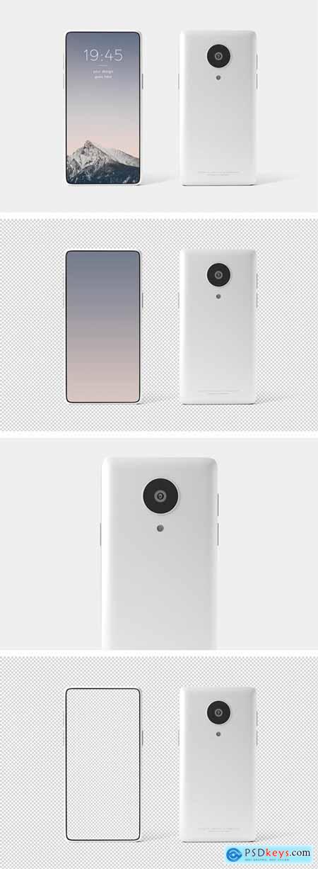 Editable Mobile Phone Mockup