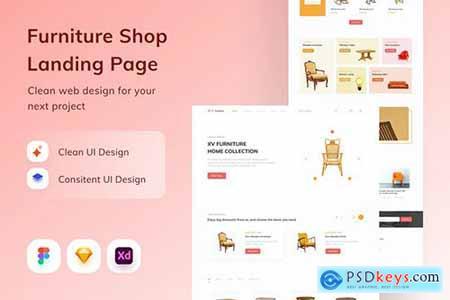 Furniture Shop Landing Page