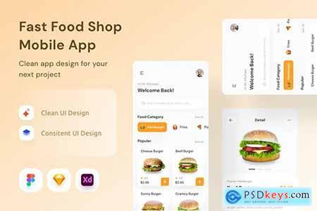 Fast Food Shop Mobile App
